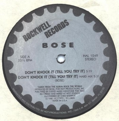 B.o.s.e - Don't Knock It A