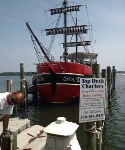 Sea Dragon Pirate Ship