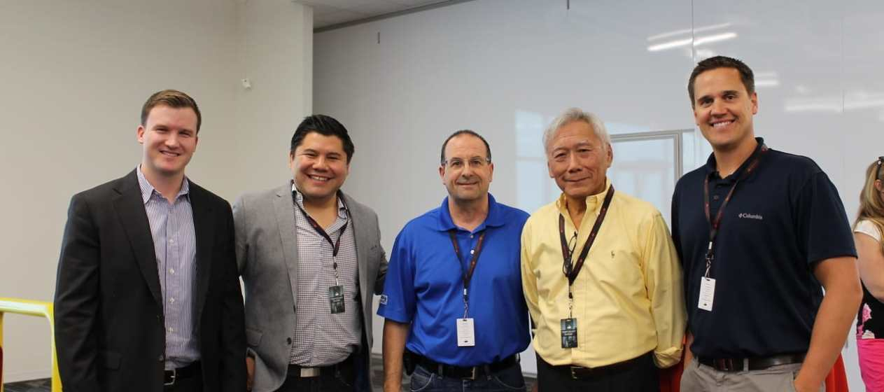 Colin Ralls-Phoenix Rising Investments, Mike Hsiung-Phoenix Rising Investments, Mike Fragassi-Willmeng Construction, Wu Yang Hsiung-Phoenix Rising Investments, Trevor Stantus-Willmeng Construction