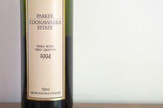 Parker Coonawarra Estate Terra Rossa First Growth 1994 Wine Tasting Review