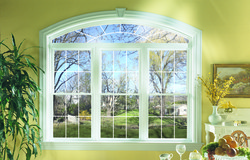double hung windows in a sunny room