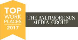 Baltimore 2017 Top Workplaces Award Logo