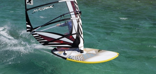 Naish Nitrix 145 2012 action