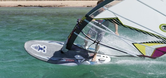 Starboard Futura 141 2012 action