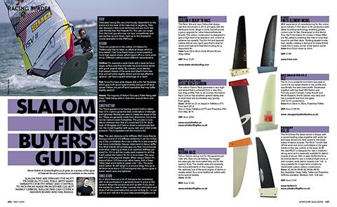 fin windsurf