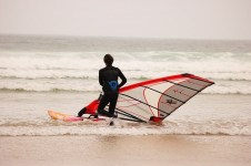 WINDSURFING GWITHIAN CORNWALL