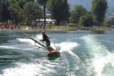YENTEL CAERS TOW IN WINDSURFING