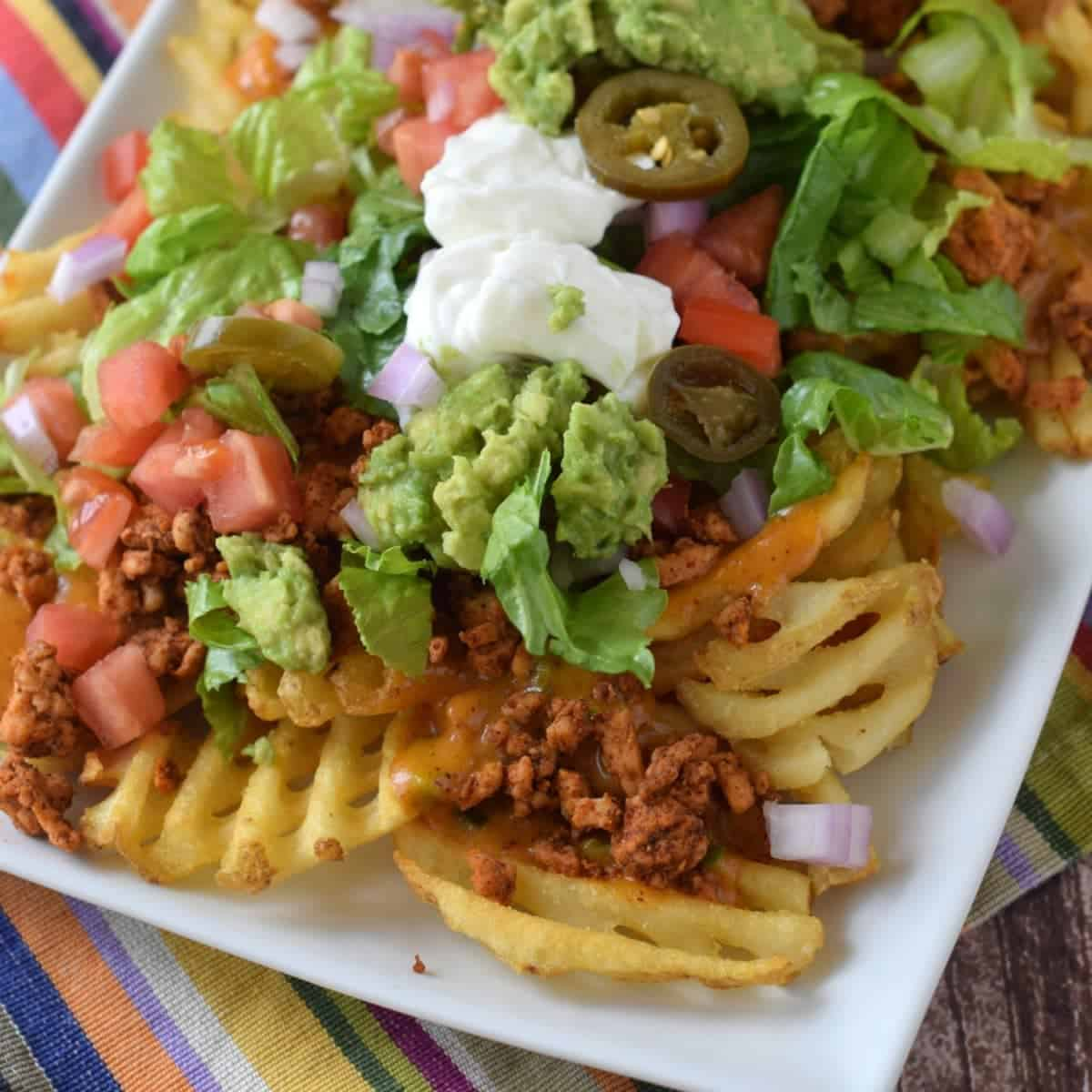 Dining A Crinkle Cutter How To Make Waffle Shaped Fries Waffle Fry Nachos Wine Glue How To Make Waffle Fries nice food How To Make Waffle Fries