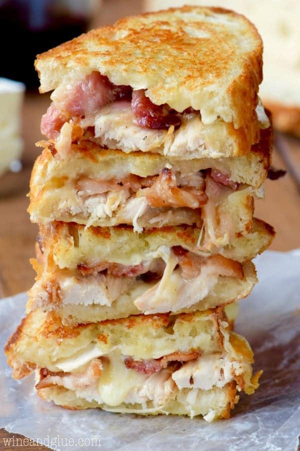 Thanksgiving Leftover Sandwiches