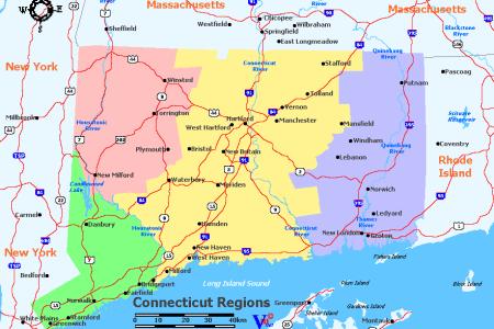 connecticut wine regions