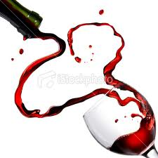 wine and heart