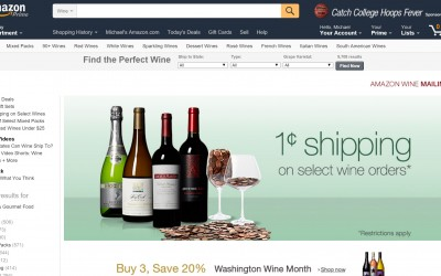 Amazon Wines Sales