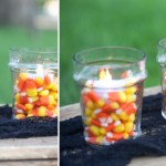 Candy Corn Tea Light Inspiration!