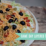 Game Day Layered Taco Dip
