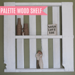 Palette Wood Shelf