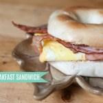 Breakfast Sandwich, Bistro Style!