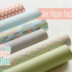 Zoe Scrapbooking Paper Preview!