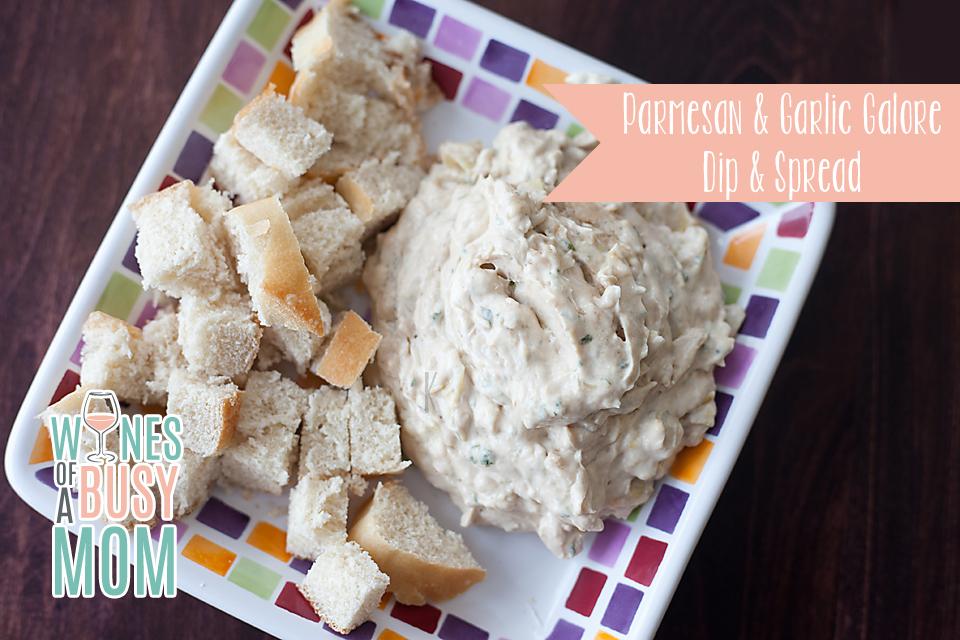 Parmesan & Garlic Galore Dip & Spread