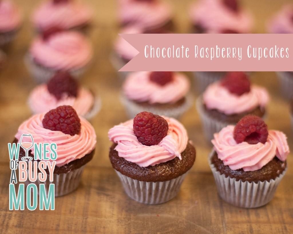 Chocolate Raspberry Cupcakes