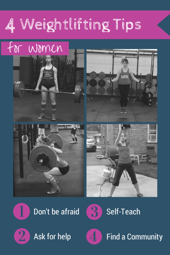 Weightlifting tips for women. Post explains how I got started with weightlifting and why other women should do the same. Includes helpful tips for overcoming the fear of the weight room. For more posts on women's weightlifting check out @winetoweights blog at www.winetoweightlifting.com