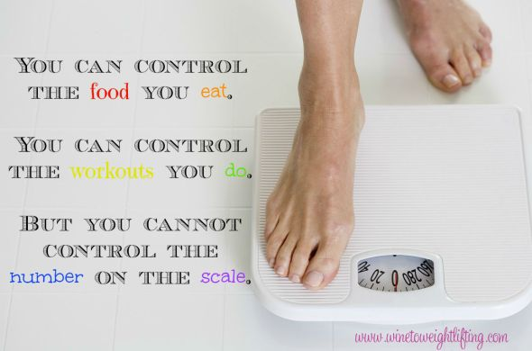 dietbet problem you can control the food you eat. you can control the workouts you do; but you cannot control the number on the scale.