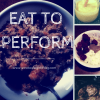 What I Ate Wednesday: Eat To Perform