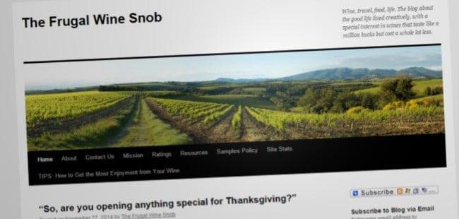 The Frugal Wine Snob