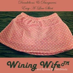 Dandelions n' Dungarees Easy A-Line Skirt