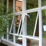 White sunroom awning windows in Milton