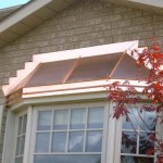 Custom bay window with copper roof in Georgetown