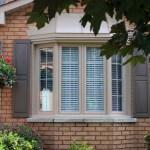 Sandlewood Bay Window with matching internal grills