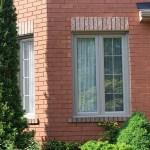 Casement window with grills in Milton