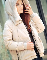 Women-Duck-Down-Side-Zipper-Winter-Coat-Winter-Jacket-