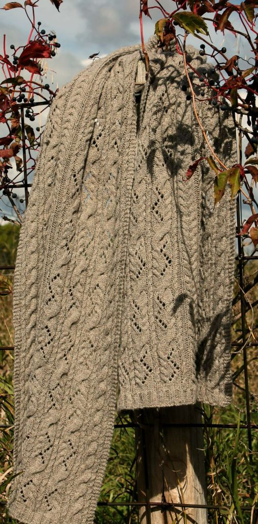 tallgrass shawl in autumn