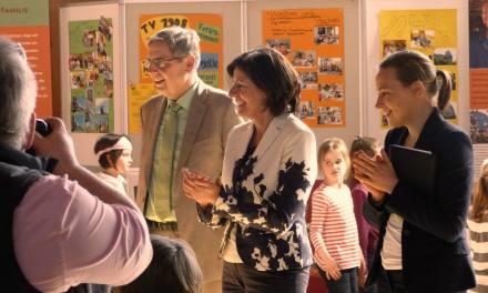 Ministerpräsidentin Malu Dreyer besucht Projektwerkstatt