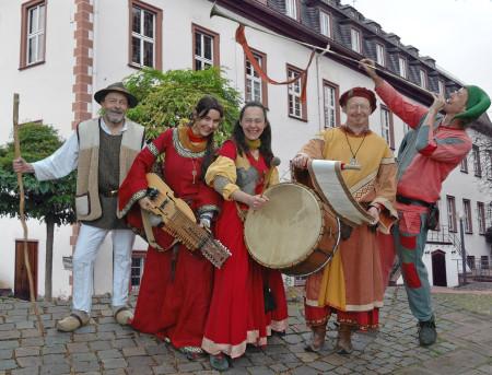 Historischer Leininger Markt in Guntersblum