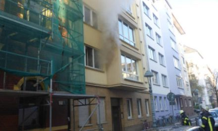 Zimmerbrand in der Mainzer Neustadt
