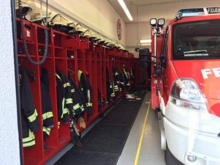 Einbrecher suchen die Feuerwehrhäuser in Dienheim und  Nierstein heim