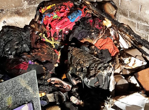 Kellerbrand in einem Mehrfamilienhaus in Worms