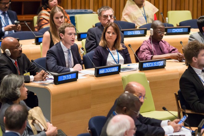Zuckerberg to the UN: The Internet Belongs to Everyone