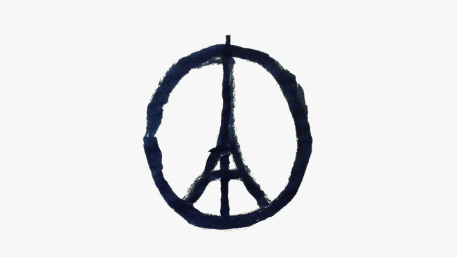 "Meet Jean Jullien, The Artist Behind The ""Peace for Paris"" Symbol"