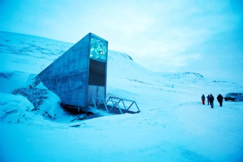The Arctic Doomsday Seed Vault Flooded. Thanks, Global Warming