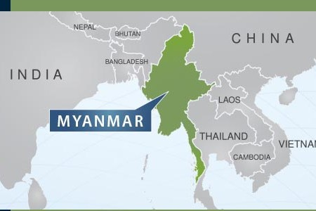 Map of asia burma gumiabroncs Gallery