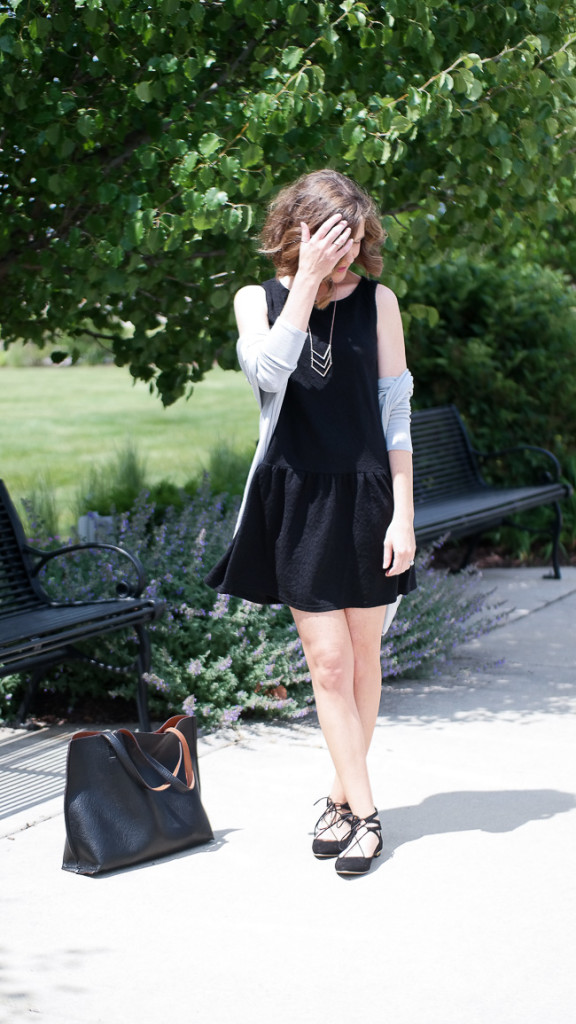 Another Lbd And Lace Up Flats Wishes Amp Reality