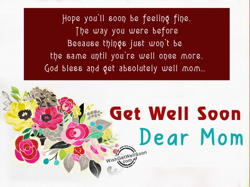 Large Of Hope You Feel Better Soon