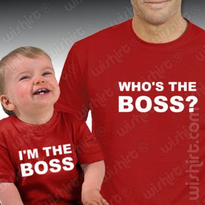 T-shirts para bebés e pais personalizadas #2