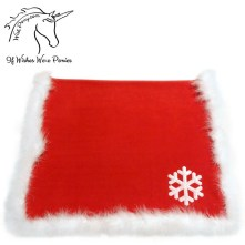 Wishpony Christmas Saddle Blanket