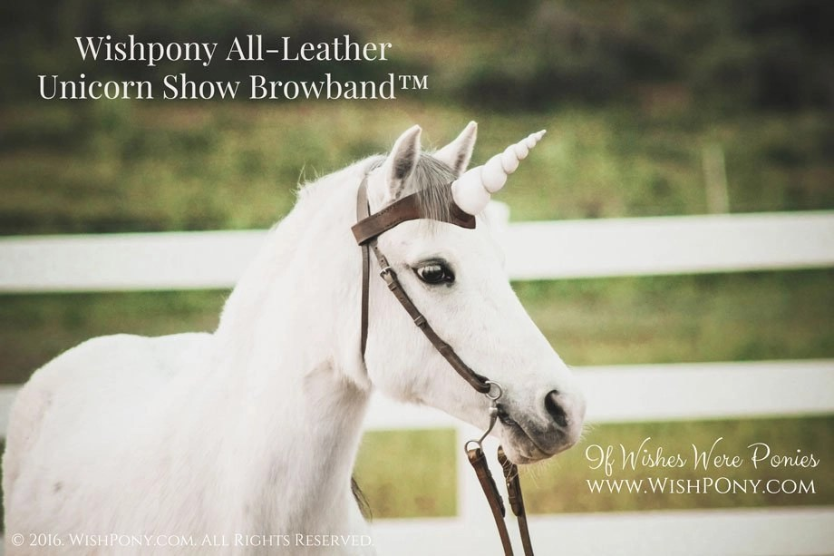 New Leather Unicorn Show Browbands Listed