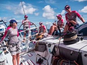 Team SCA_on boat