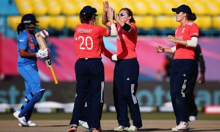 England v India in ICC World T20 Series